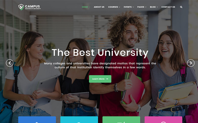 Campus - University and Education Template